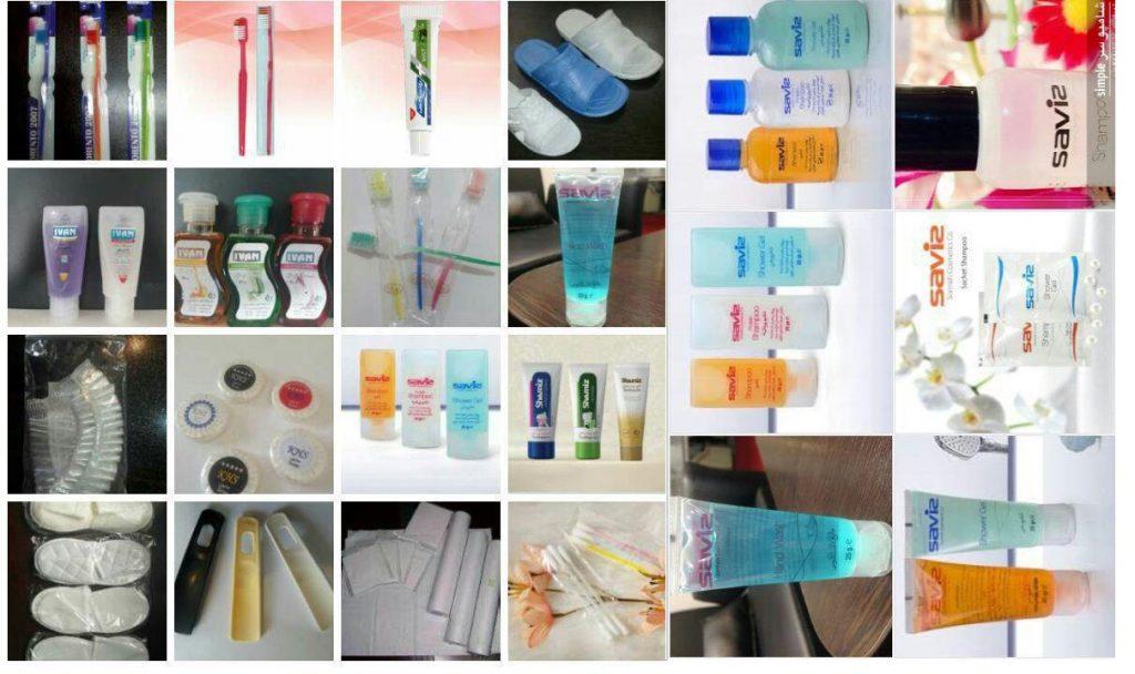 برند های محصولات بهداشتی هتلی
