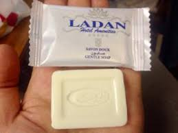 بسته بندی صابون هتلی لادن
